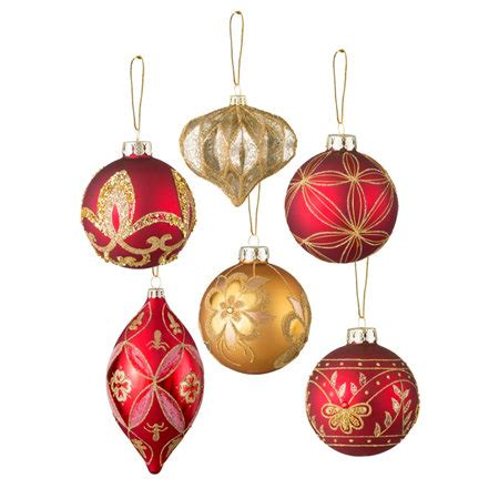burgundy and gold christmas ornament sets improvements