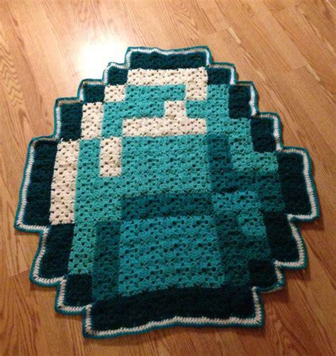 8 bit rug 8 bit blanket rug by geeky crafts n more eclectic rugs