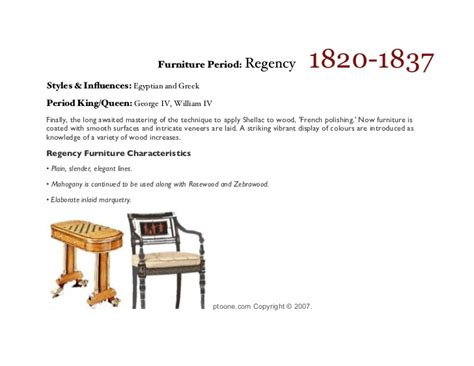 furniture styles timeline a illustrated timeline of the styles of period