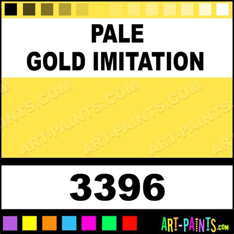 pale gold imitation artist acrylic paints 3396 pale gold imitation paint pale gold