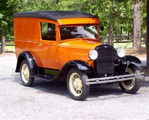 Vintage 1930 Model A Ford 1930 ford model a panel delivery 79b beautiful