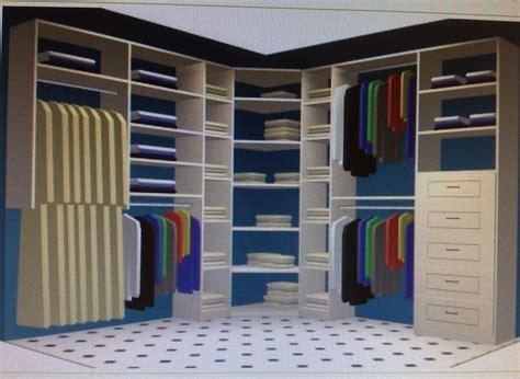 Solutions Closet by Corner Closet Solution Basement