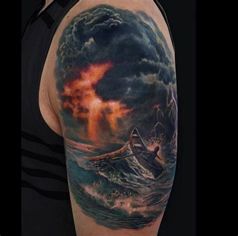 thunderstorm tattoo lightning www imgkid the image kid