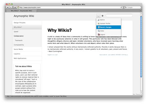 dokuwiki templates template a centered perspective dokuwiki