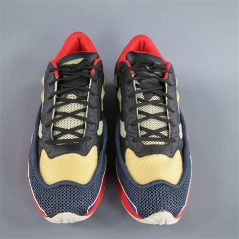 raf simons x adidas size 12 multi color ozweego 2 sneakers at 1stdibs