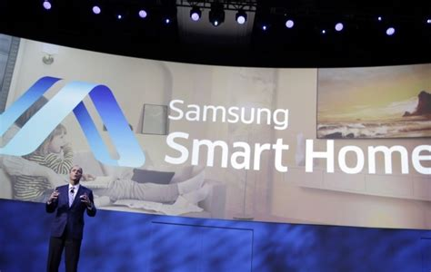 samsung smart home technology ces 2014 samsung and lg showcase their vision of smart