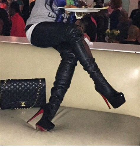 google ebay boats christian louboutin monicarina thigh high leather boots