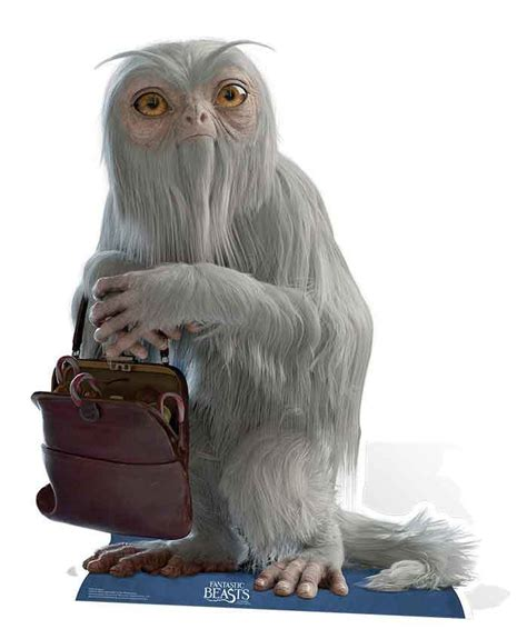 Where To Find Demiguise From Fantastic Beasts And Where To Find Them Lifesize Cardboard Cutout