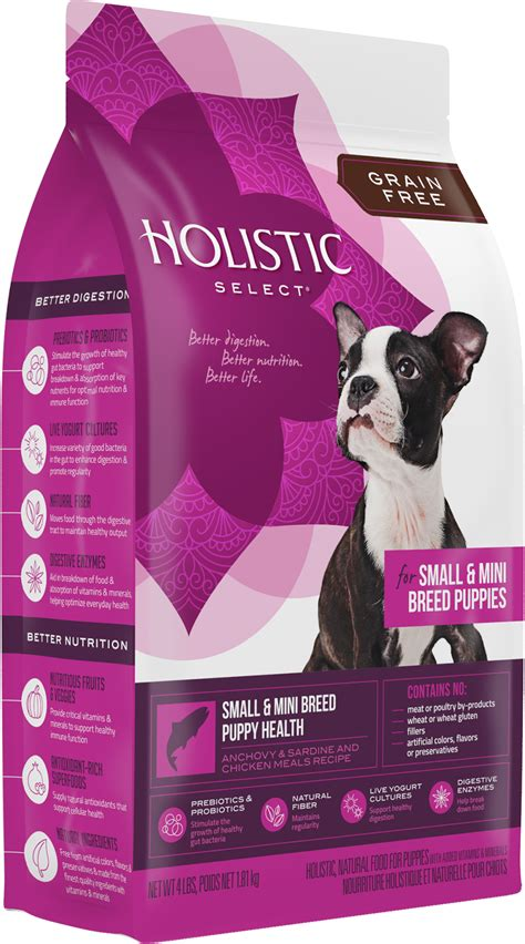 Pureluxe Holistic For Small Breed Dogs 4lbs 1 8kg grain free small mini breed puppy health holistic select