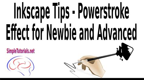 inkscape tutorial for beginners inkscape tips for beginners and advanced powerstroke