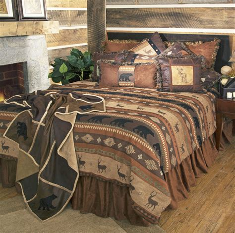 lodge style bedding autumn trails by carstens lodge bedding by carstens lodge