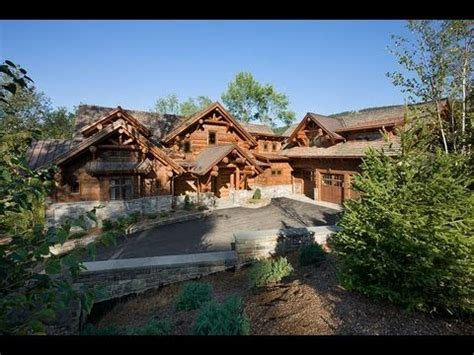 epic homes master crafted log mansion