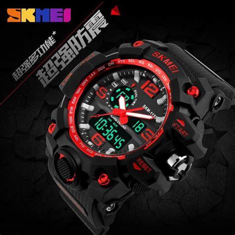 Jam Tangan Skmei Dg1025 Black skmei jam tangan analog digital pria ad1155 black