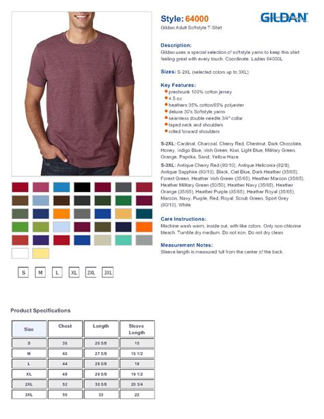 gildan softstyle colors gildan 64000 s softstyle t shirt 2 88 s t shirts