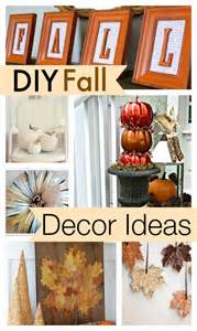 diy fall home decor 10 diy fall decor ideas
