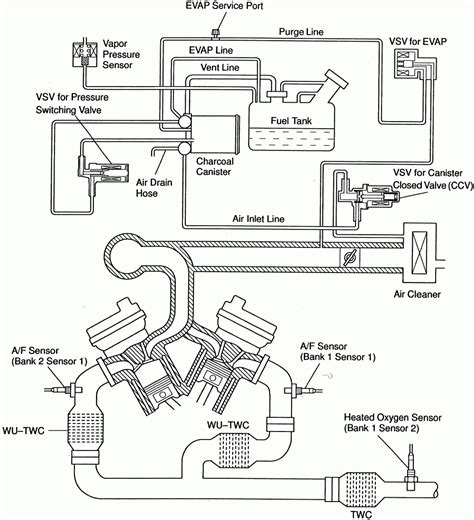 auto air conditioning repair 2000 toyota camry free book repair manuals 2004 toyota camry engine parts diagram automotive parts diagram images
