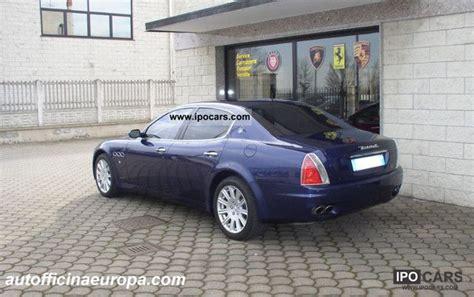 2005 maserati quattroporte car photo and specs