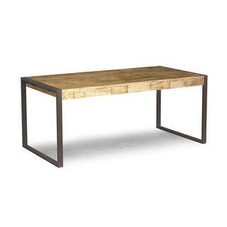 timbergirl reclaimed wood and metal dining table india