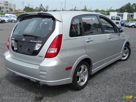 Suzuki Aerio Awd Silky Silver Metallic 2004 Suzuki Aerio Sx Awd Sport Wagon