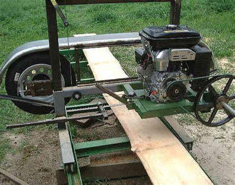 bandsaw sawmill plans
