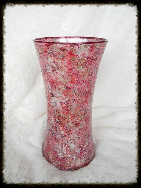 sugar creek home decor decorative hand painted glass vase sugar creek home decor