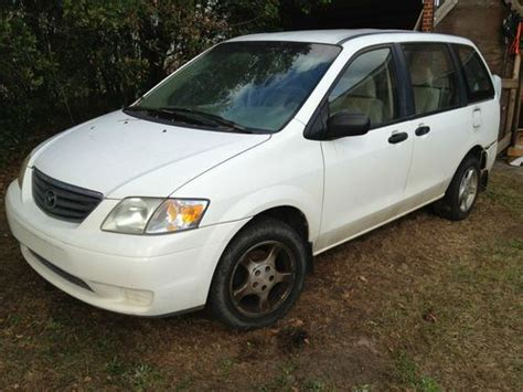 how petrol cars work 2000 mazda mpv electronic toll collection sell used 2000 mazda mpv for parts or repair light damage in rear bad motor clear title in
