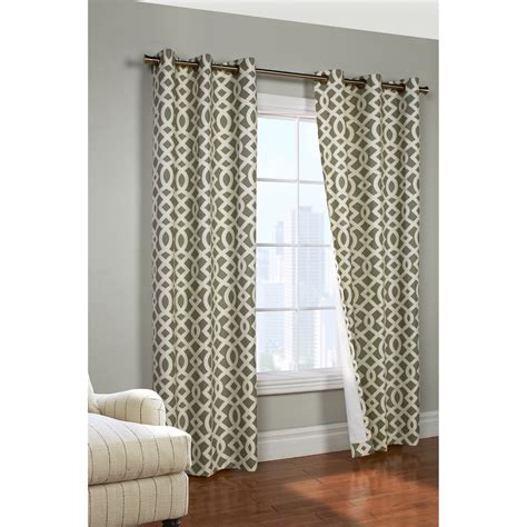 trellis drapes thermalogic weathermate trellis curtains 80x84 quot grommet