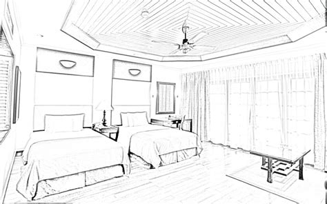 house interior sketch internal architectural sketch for house architecture