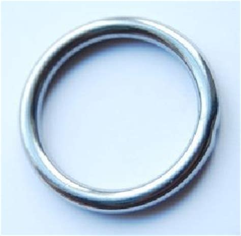 O Ring Stainless 8x50mm Welded Stainless Ring welded steel o ring profabrics