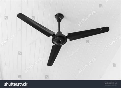 black and white ceiling fan ceiling fan black white tone stock photo 294551765