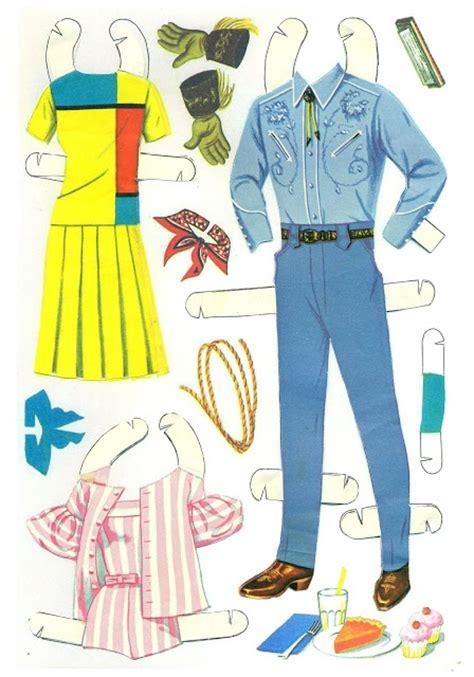 printable ken paper dolls 1966 barbie and ken cut outs paper dolls pinterest