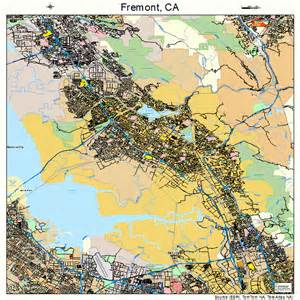 map of fremont california fremont california map 0626000