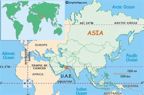 uae on world map useful dubai weblinks