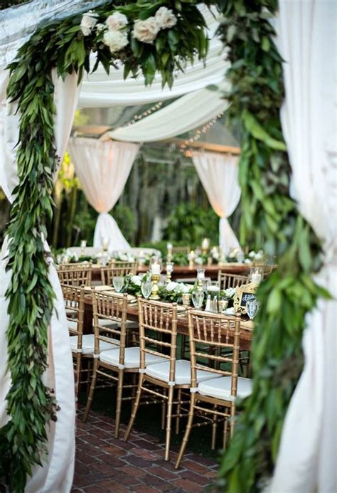 Garden Wedding Decor Ideas 21 Pretty Garden Wedding Ideas For 2016 Tulle Chantilly Wedding
