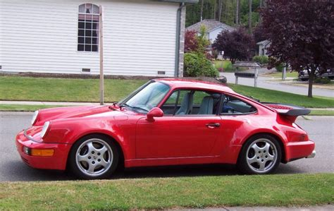 1990 porsche 911 red 1990 porsche 911 information and photos zombiedrive