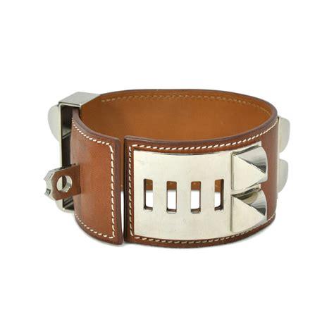 Gelang Hermes Colier De Chien Hermes Bracelet Bangles second hermes hermes collier de chien bracelet brown the fifth collection