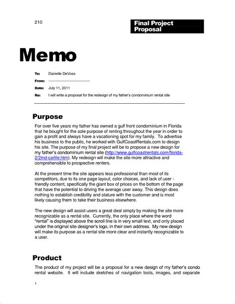 12 business memo template memo formats