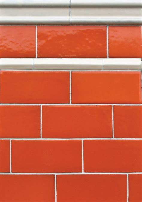 60s orange brick colors home design ideas