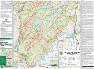 Harriman State Park Map by Harriman State Park Trail Map World Map 07