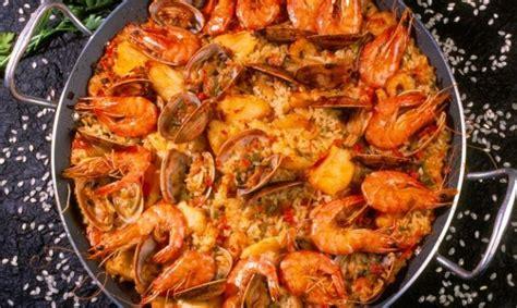 recetas de cocina paella de marisco receta de paella de marisco con almejas unareceta
