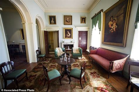 arlington home interiors david rubenstein s 12 3m gift to restore general robert e s home in virginia daily mail