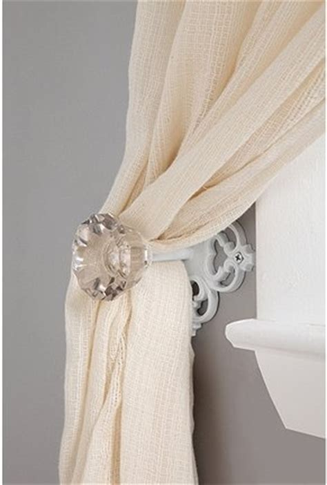 Curtain Knob Tie Backs by 17 Best Images About Decor Ideas Curtain Tie Backs On The Glass Rubbed Bronze