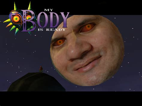 Reginald Meme - my body is ready reggie s mask reggie fils aime know