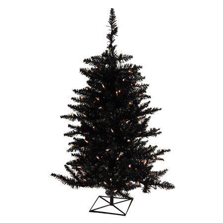 black hills fir pre lit 3 pre lit black fir artificial or tree clear lights walmart