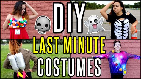 diy  minute cheap easy halloween costume ideas