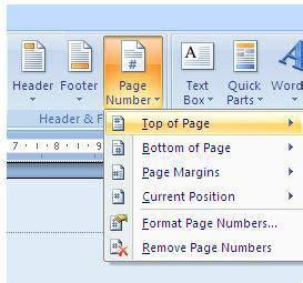 membuat nomor halaman yang berbeda di word 2007 langit hitam putih cara membuat nomor halaman yang