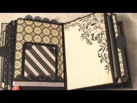 tutorial scrapbook anniversary wedding anniversary custom mini scrapbook album scrap