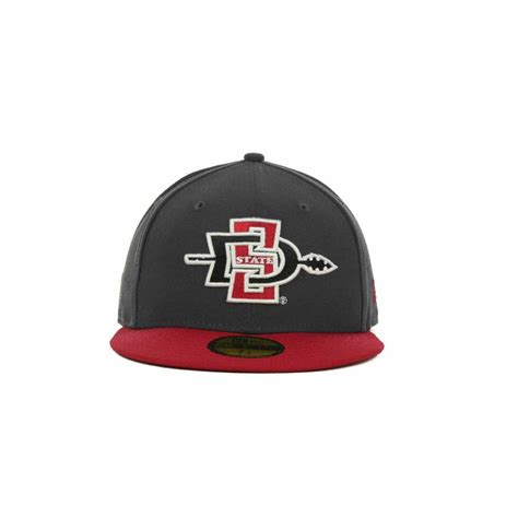 san diego state colors lyst ktz san diego state aztecs 2tone graphite and team