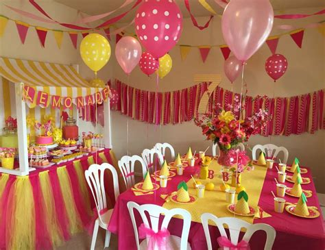 birthday themes and pictures lemonade lemons birthday quot abby s lemonade stand party