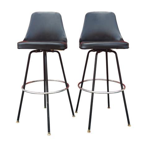 3ft bar stools cosco swivel bar stools a pair chairish